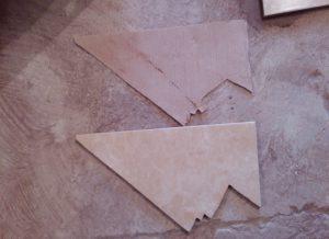 Подрезка керамической плитки в области дверных проемов своими руками
